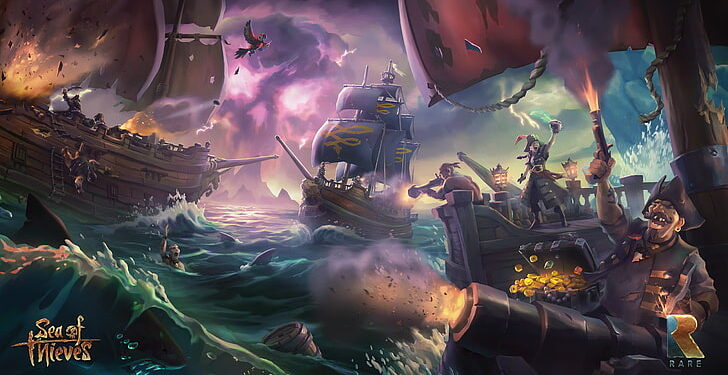 First Sea of thieves gameplay revealed